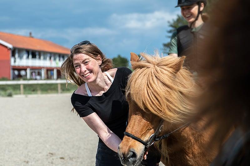 Lærer på Helgenæs Naturefterskole Kristina Rosenkrands Petersen