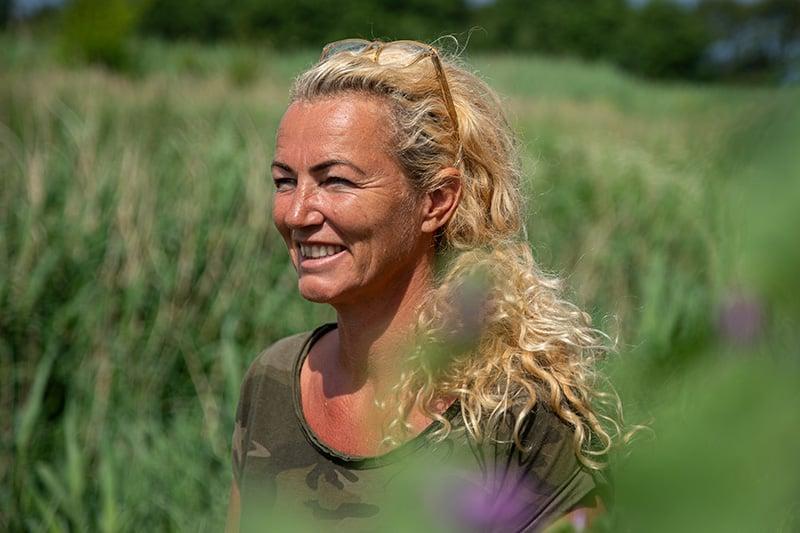 Forstander på Helgenæs Naturefterskole Mette Marie Bauer