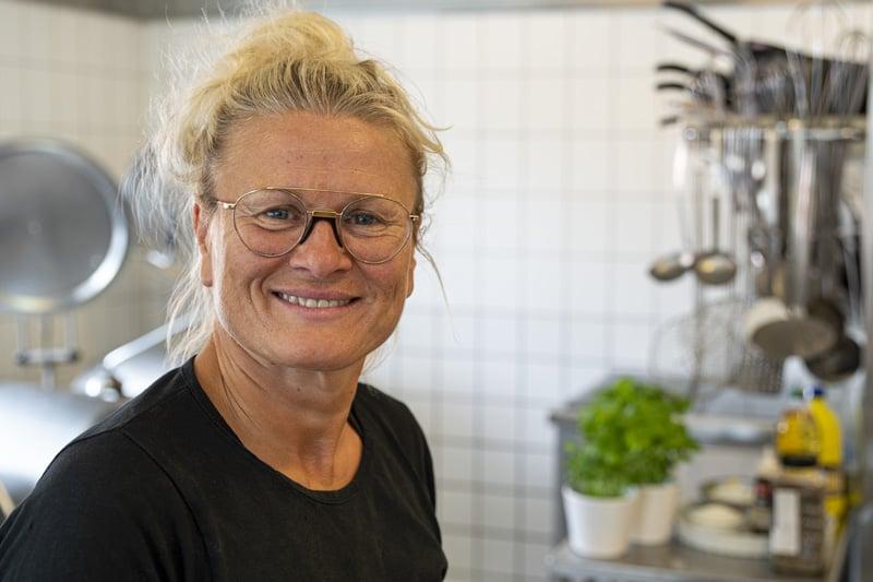 Kok på Helgenæs Naturefterskole Rikke Vendelbo